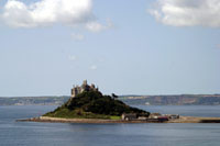 View of St Michael's Mount, near Penzance