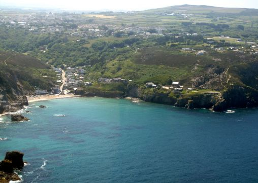 St Agnes from the air