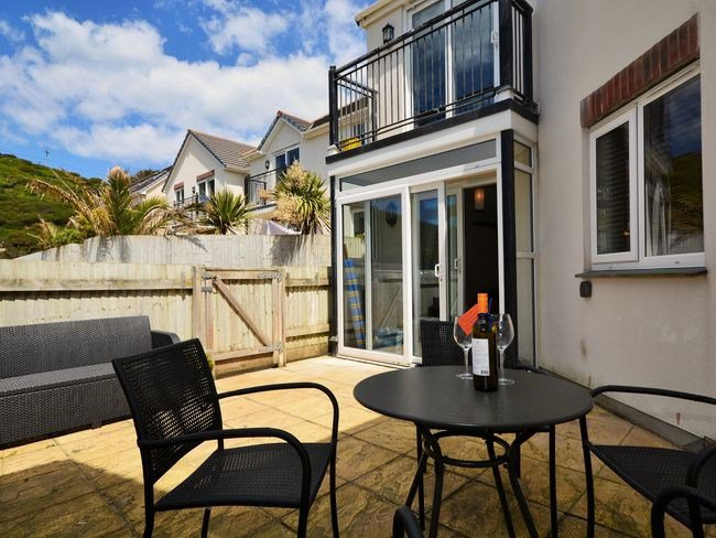 Apartment within easy walking distance of Porthtowan's Sandy Beach