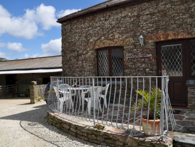 Converted Stable with views over Mevagissey