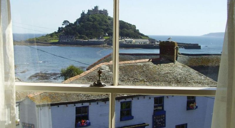 View from Marazion Hotel