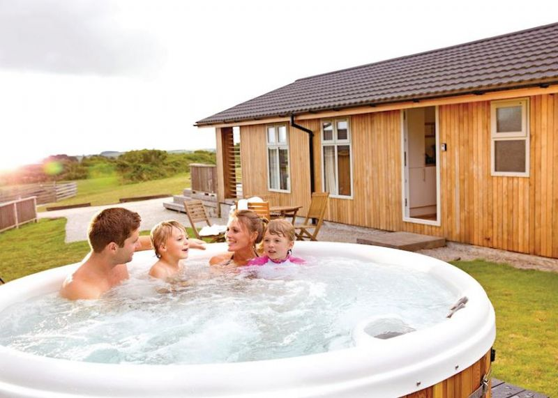 Caddy's Corner Lodges near Falmouth and Helston