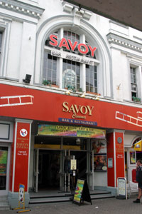 Savoy Cinema, Cinemas