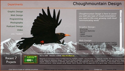 Choughmountain Design, Penzance
