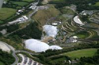 Eden Project - aerial view