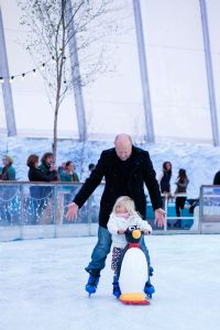 Ice Skating at Eden