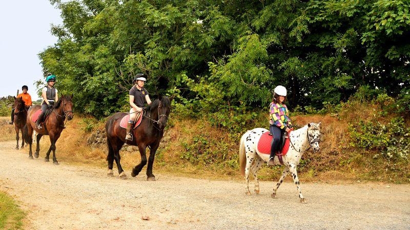 Cornish Riding Holidays Wheal Buller Riding School In