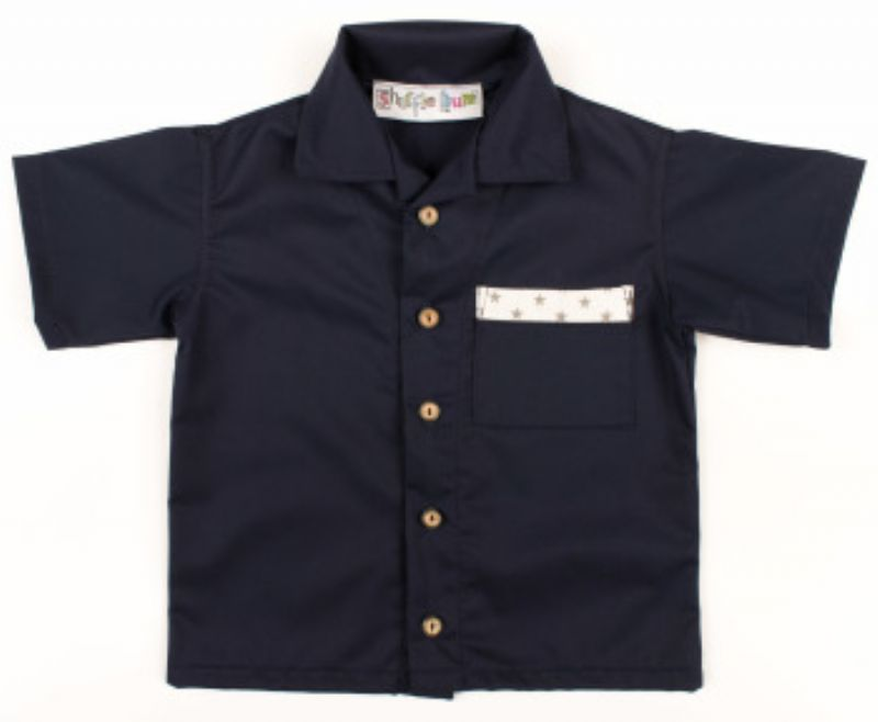 Shufflebum Children's Designer Clothing - Limited Edition Boys' Shirt with Star Trim
