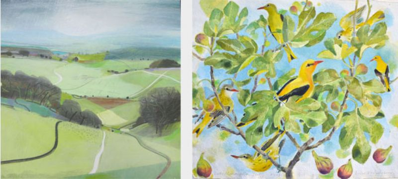 Pasture, Paths, Tracks, Fiona Millais & Hyperion and Helios, Andrew Waddington