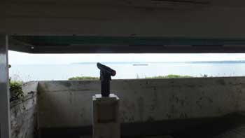 Observation post at St Anthony Battery
