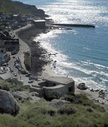 Pillbox at Sennen Cove