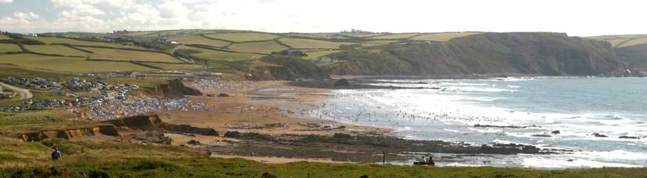 Beaches in Tintagel and North Cornwall
