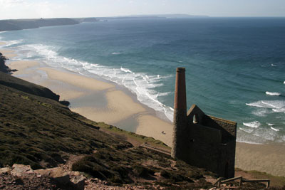Wheal Coates at Chapel Porth, near St Agnes