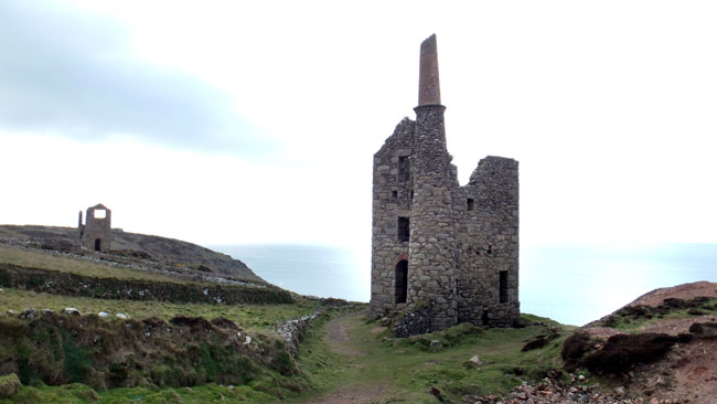 West Wheal Owles features as Wheal Leisure in Poldark title=