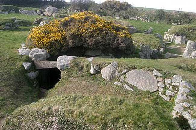 10 Best Archaeological Sites in Cornwall - Carn Euny, Brane, Sancreed, Penzance, Cornwall, TR20 8RB