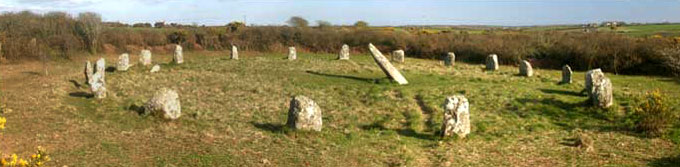 10 Best Archaeological Sites in Cornwall - Boscawen-un Stone Circle, Just off the A30, Penzance TR19 6EJ