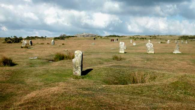 10 Best Archaeological Sites in Cornwall - The Hurlers Stone Circles, Minions, Liskeard PL14 5LE