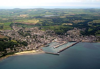 Newlyn from the air