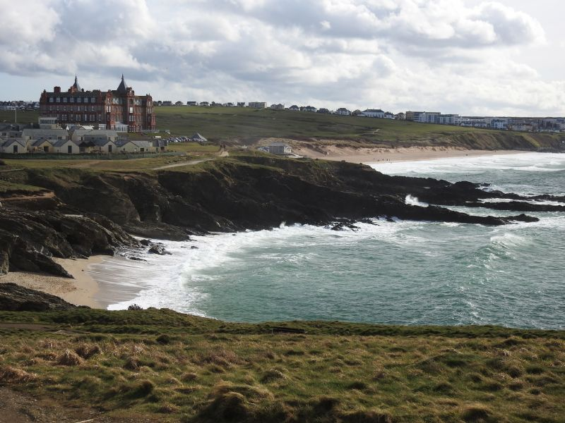 Fistral Beach in Winter