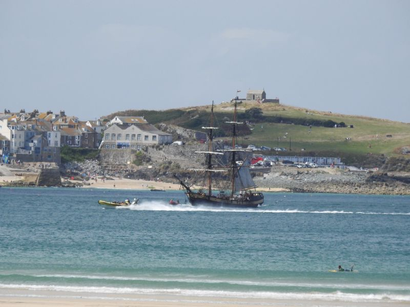 Phoenix off The Island at St Ives