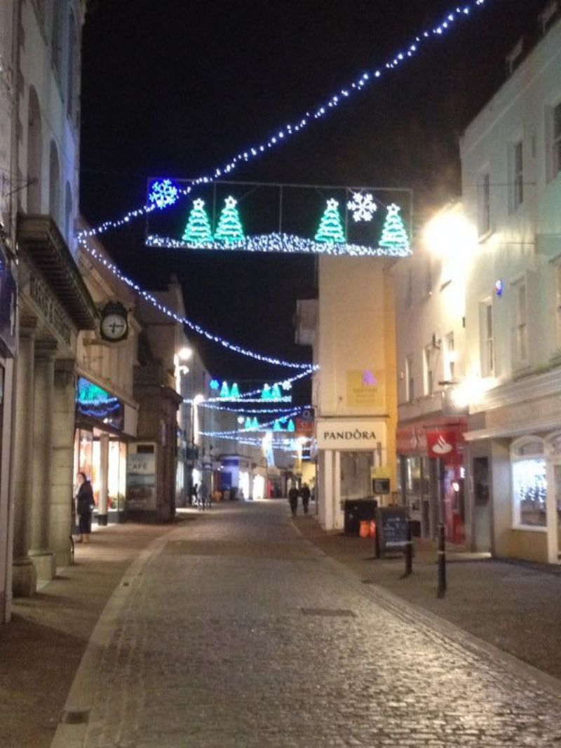 Falmouth at Christmas