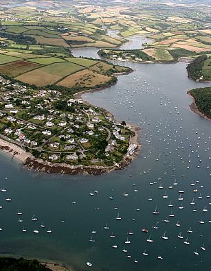 St Mawes and the Percuil River