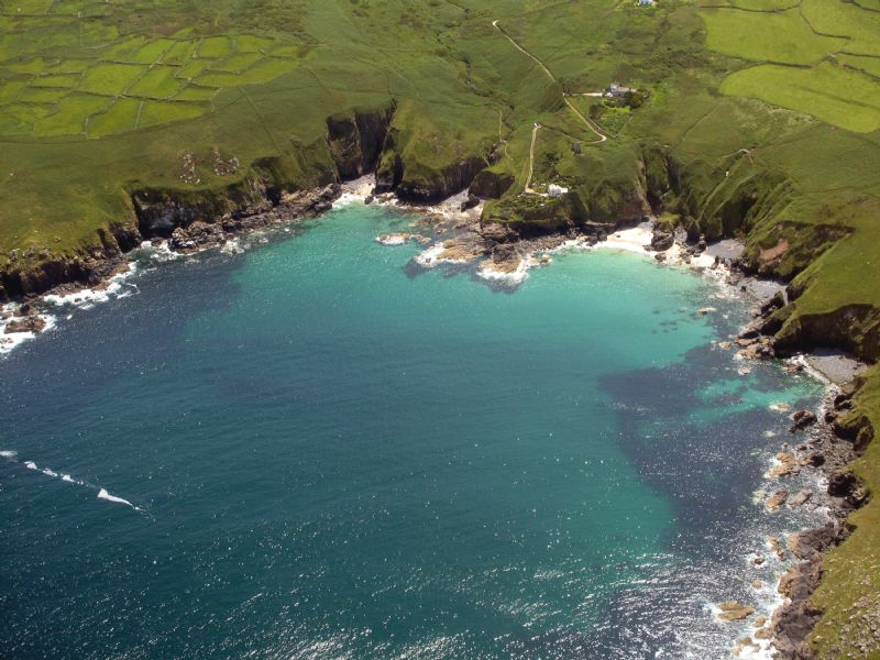 Treen Cove and Lean Point at Gurnard's Head near Zennor