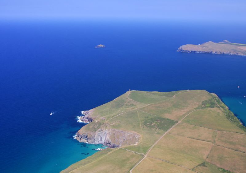 Stepper Point near Padstow - Aerial View