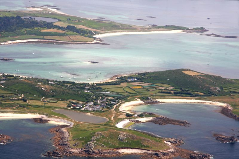 Great Porth, Bryher and Appletree Beach, Tresco, Isles of Scilly