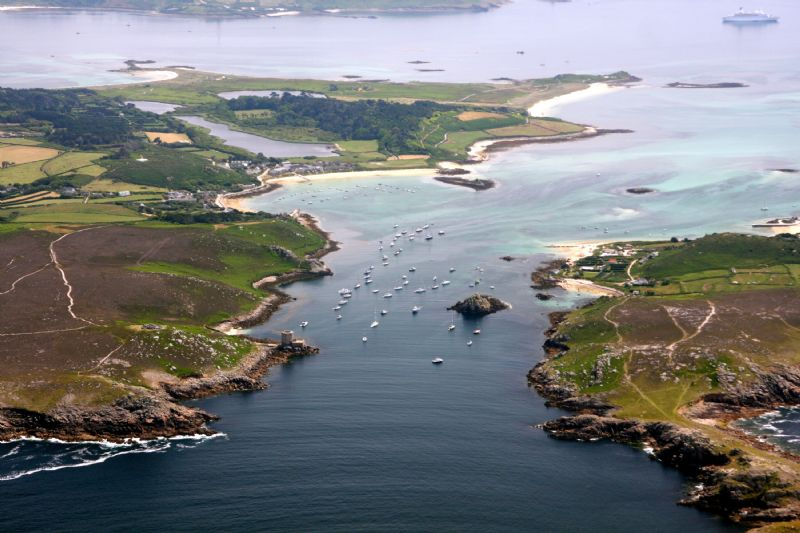 Tresco - New Grimsby Harbour, Isles of Scilly