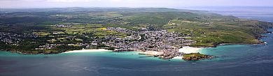 St Ives, its beaches and coastline