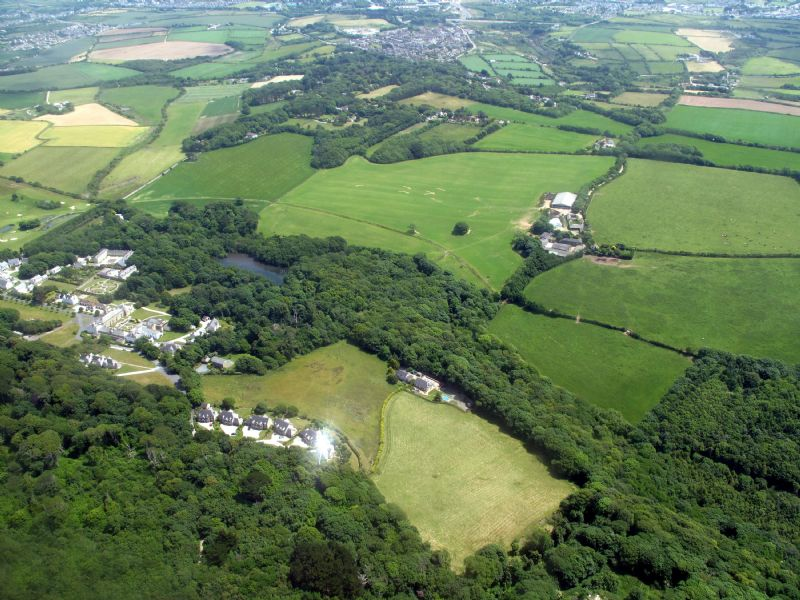 Tehidy Country Park - Aerial View