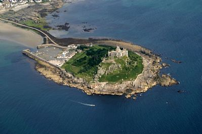 Photo Of St Michael S Mount Aerial Views Of Cornwall