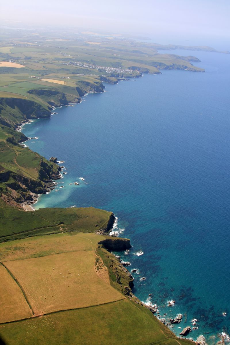 North Cornwall Coastline around Delabole