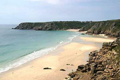 Photo Of Treen Beach Beaches Around Cornwall Into
