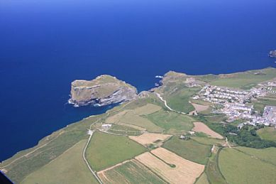 The Island at Tintagel