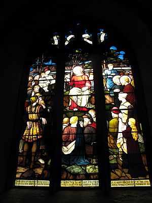 Stained Glass in Callington's St Mary's Church