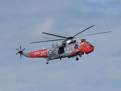 Royal Navy Rescue Helicopter at Culdrose Air Day 2010