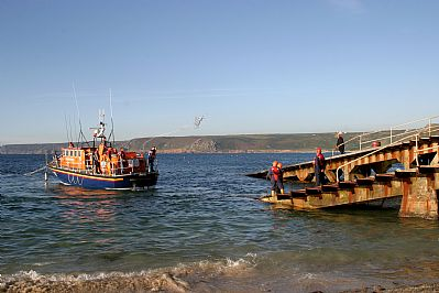 Lifeboat at Sennen Cove
