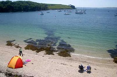 On the Beach at St Mawes