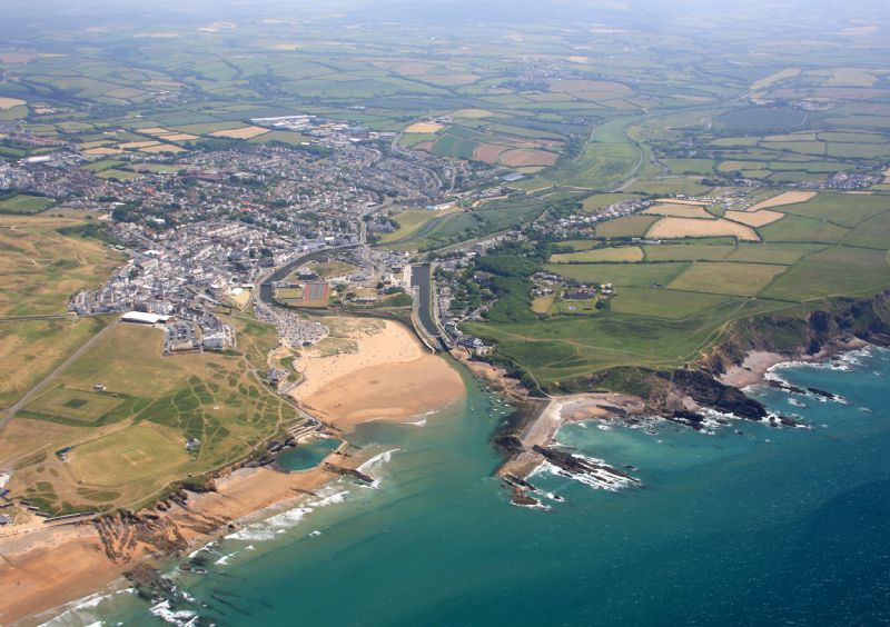 Bude's beaches and the Bude Canal