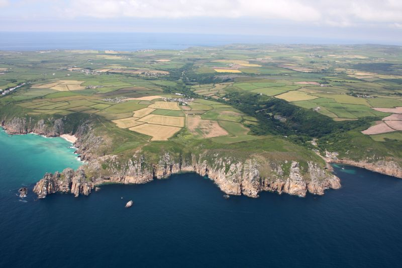 Coast Path from Porthcurno to Penberth Cove