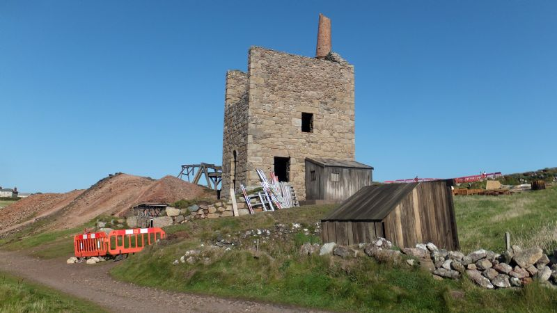 West Wheal Owles being dressed as Wheal Leisure