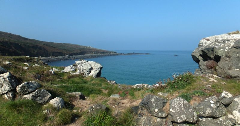 Coastline between Porthmeor Beach and Clodgy Point, St Ives