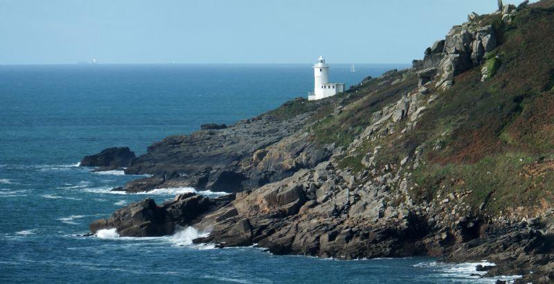 Photo Of Tater Du Lighthouse Lighthouses Around Cornwall
