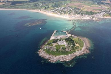 Photo Of St Michael S Mount And Marazion Aerial Views Of