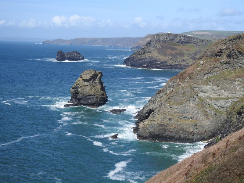 Coastline near Trevalga, North Cornwall