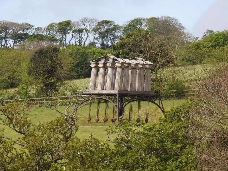 Photo Of Restless Temple At Tremenheere Sculpture Gardens
