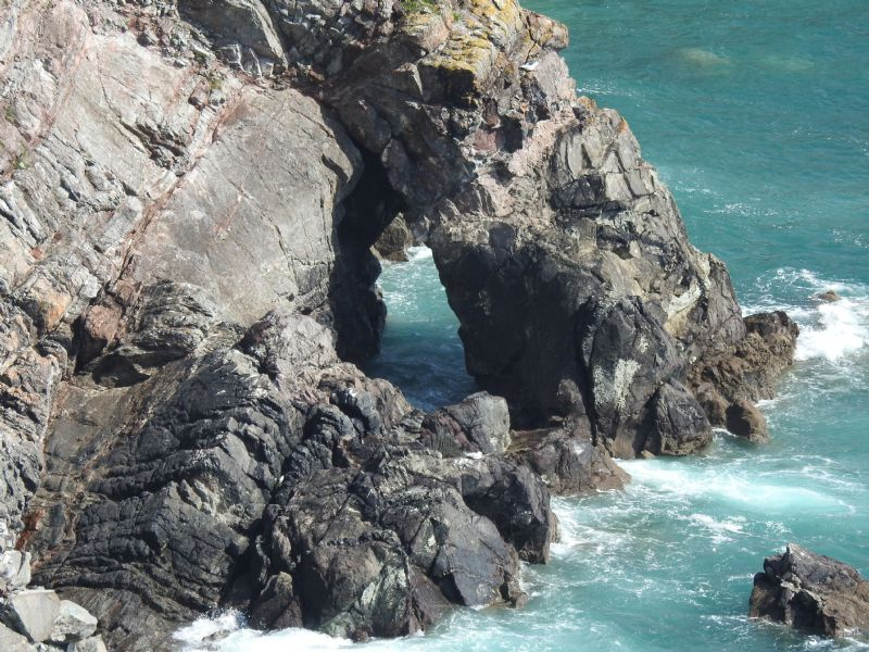 Cliff Scenery between Kennack Sands and Coverack