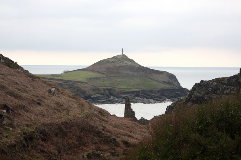Cape Cornwall in Winter